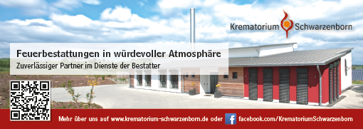 Anzeige Krematorium Schwarzenborn