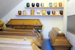 Lengemann Bestattungen Ausstellungsraum