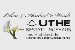 Bestattungshaus Uthe Logo
